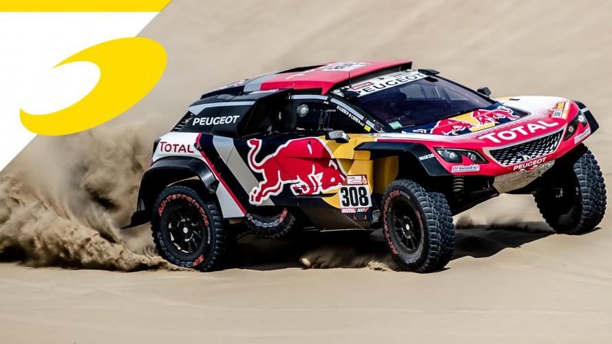 Dakar, tripletta Peugeot nella seconda tappa