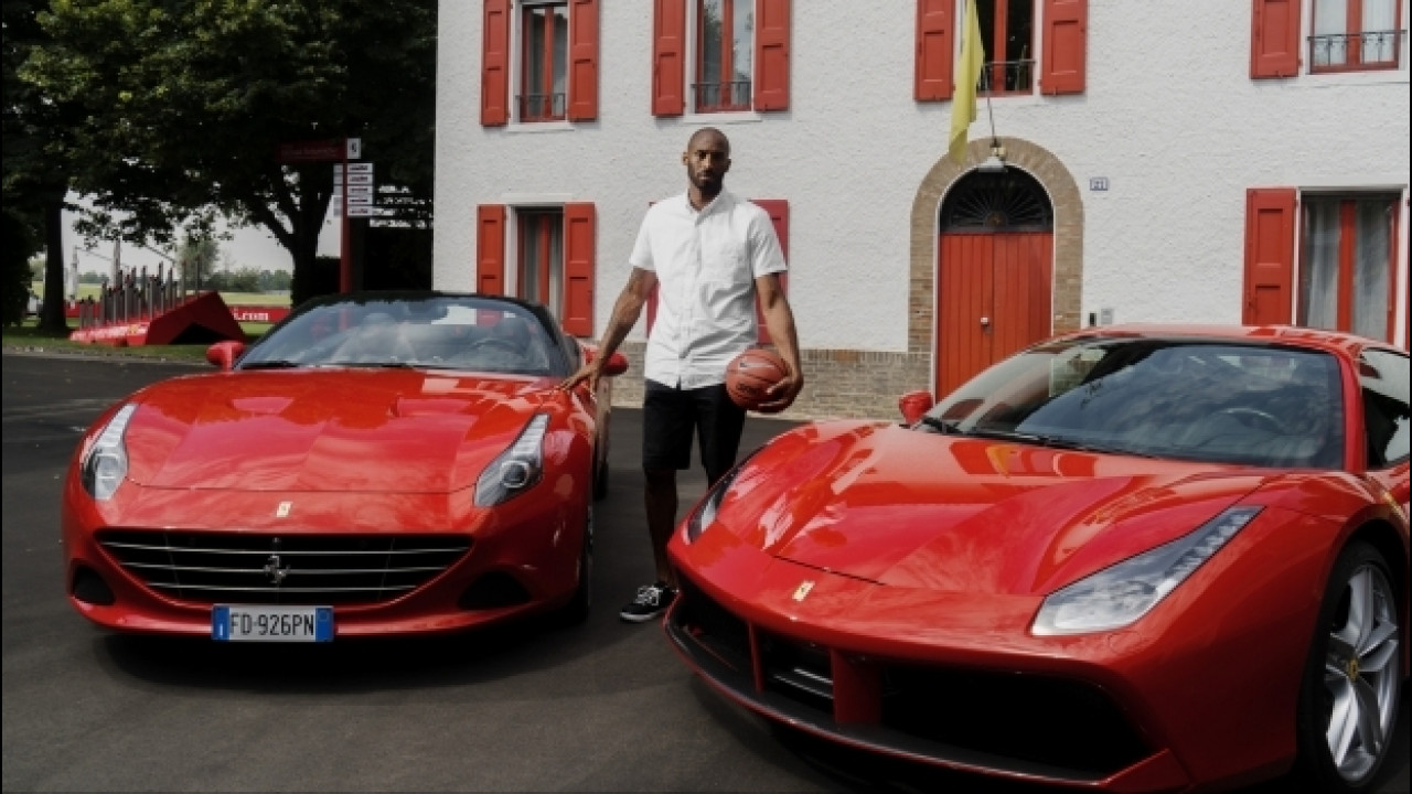[Copertina] - Ferrari, una F12tdf in pista con Kobe Bryant