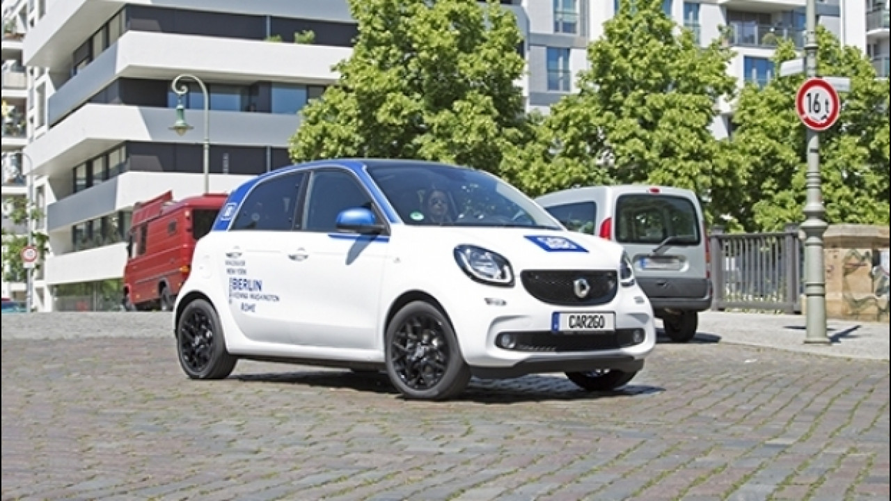 [Copertina] - car2go, la smart forfour arriva a Milano