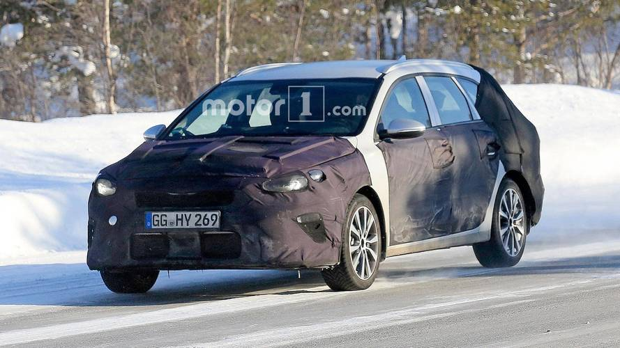 Next Kia Ceed Sportwagon Spied Before Possible Geneva Debut