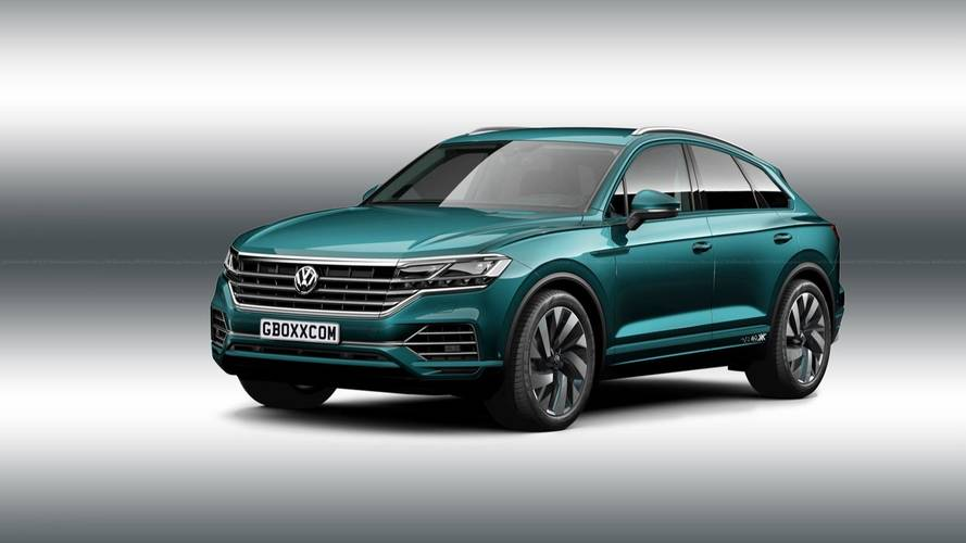 2019 VW Touareg Joins Coupe-SUV Madness In Hypothetical Render