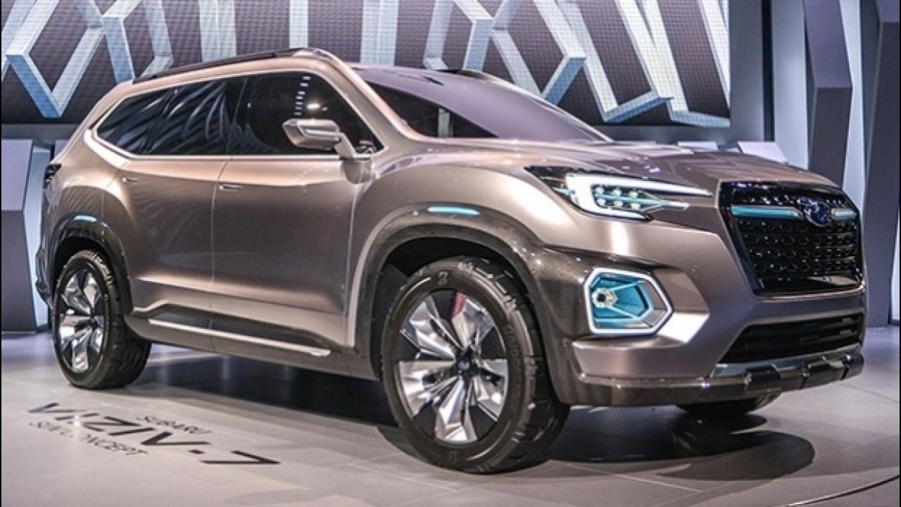 [Copertina] - Subaru Viziv-7, prove di SUV a sette posti
