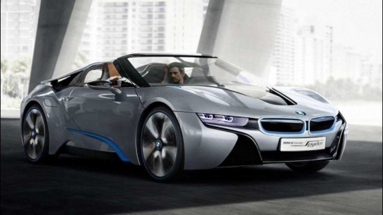 [Copertina] - BMW: l'auto del futuro sarà elettrica e connessa