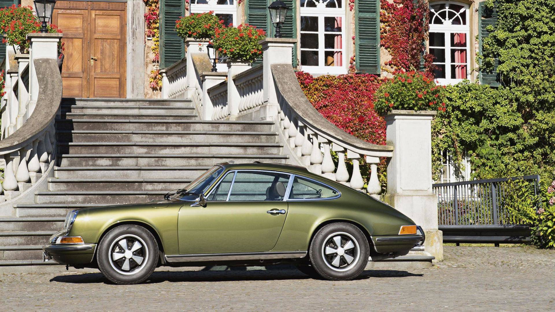 Ferry Porsche\u0027s Olive Green 911 Is Still Stunning, 49 Years