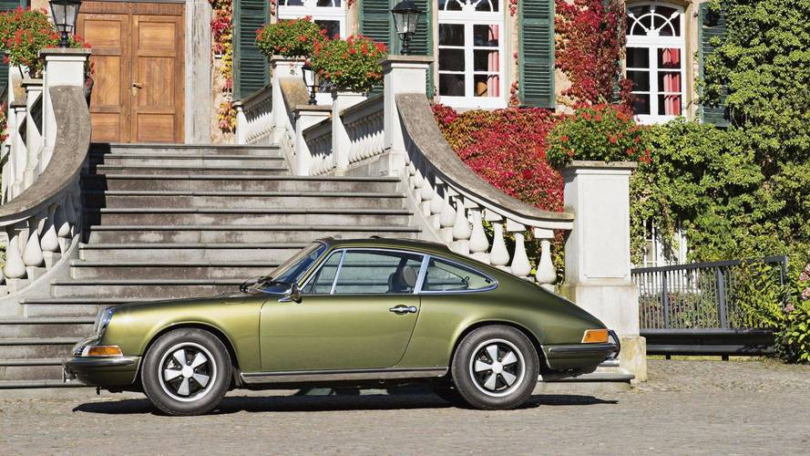 Ferry Porsche's Olive Green 911 Is Still Stunning, 49 Years Later