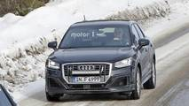 2018 Audi SQ2 Kamuflajsız Casus Fotoğrafları