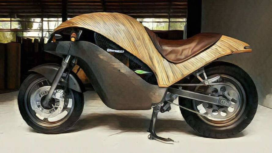 This Bamboo Electric Bike Ups The Ante On Green