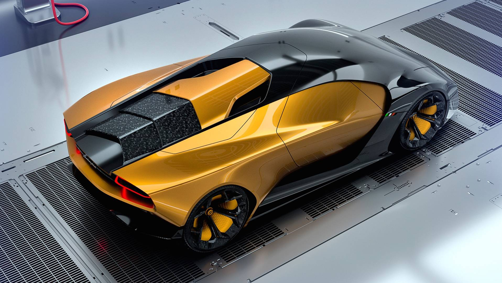 Lamborghini Rendering Imagines The Gold Standard Of Concept Cars