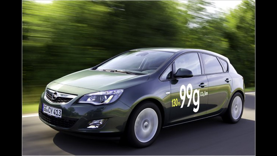 Modelljahr 2012: Opel reduziert Verbrauch bei Corsa, Astra & Co.