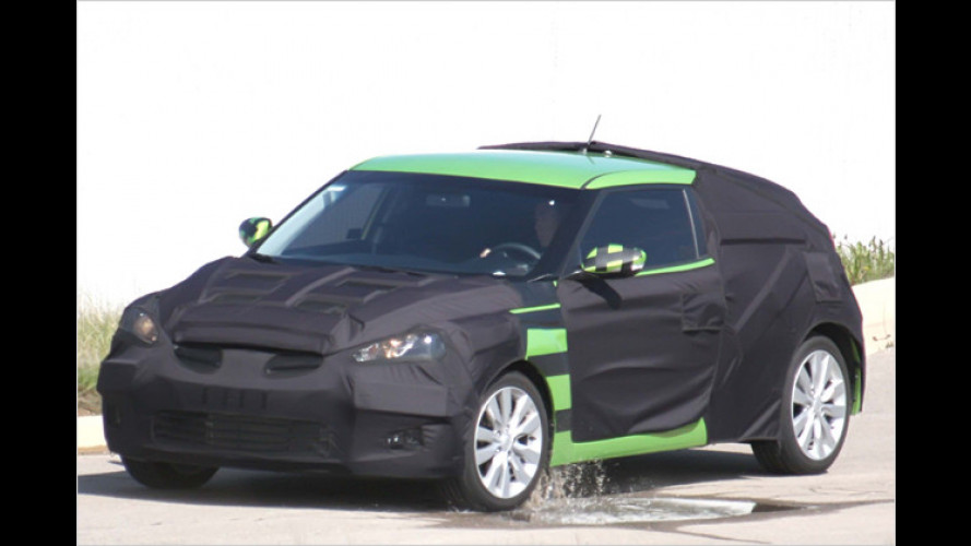 Hyundai Veloster: Erlkönig des Korea-Scirocco erwischt