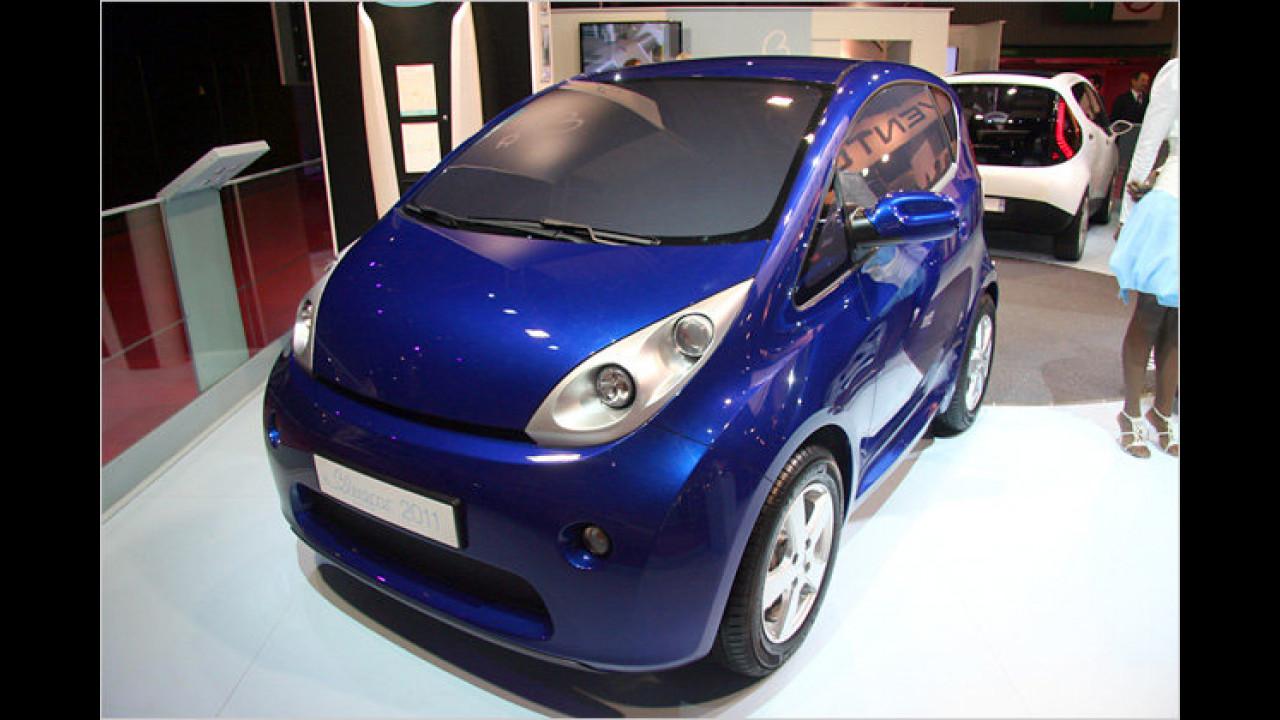 Bollore Blue Car 2011