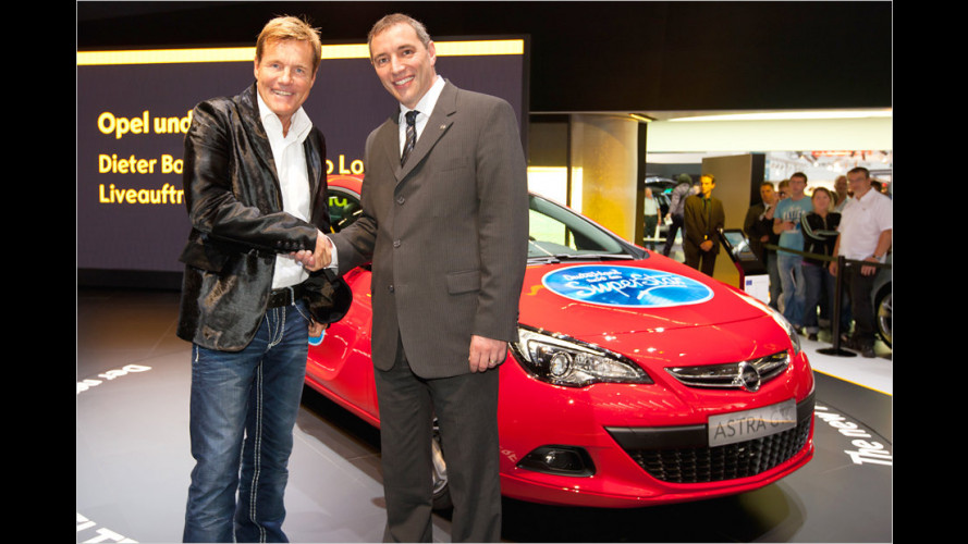 Megageil: Opel sucht mit Bohlen den Superstar