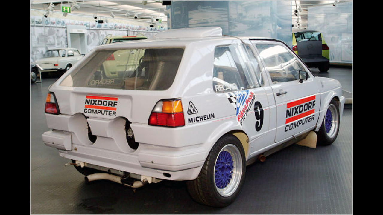 VW Golf ,Pikes Peak