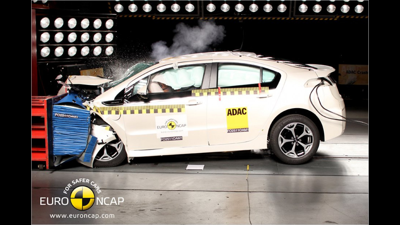 Opel Ampera, fünf Sterne