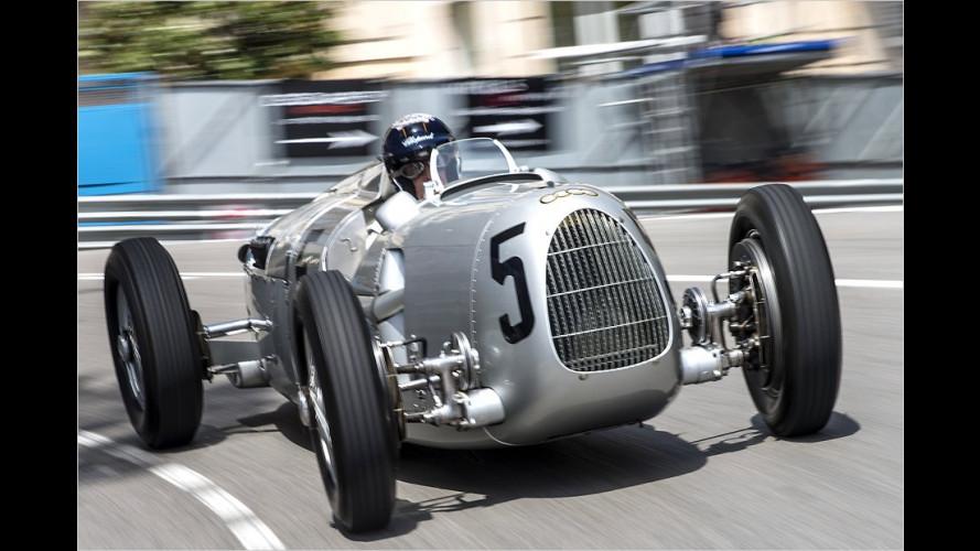 Auto Union Typ C mit Jacky Ickx in Monaco