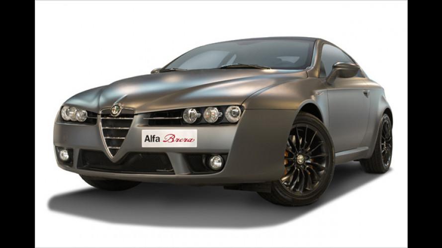 Achtung, streng limitiert: Alfa Romeo Brera Italia Independent