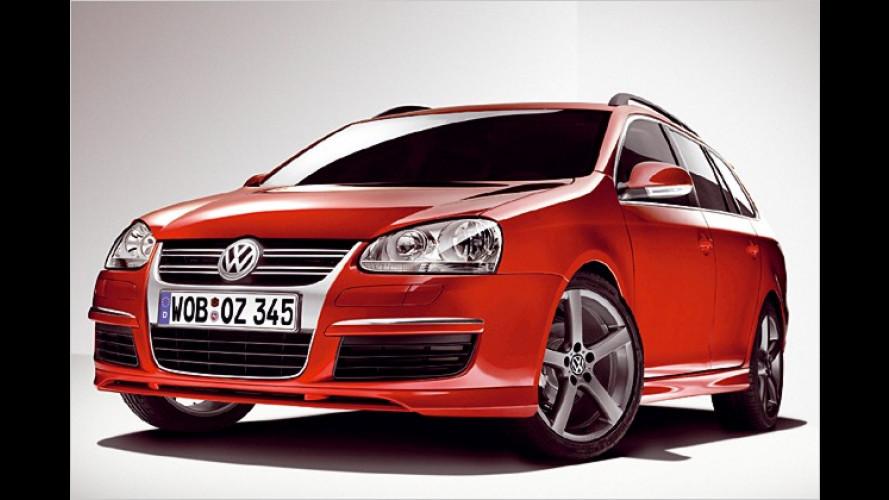 Heiß gemacht ab Werk: VW bietet schickes Zubehör