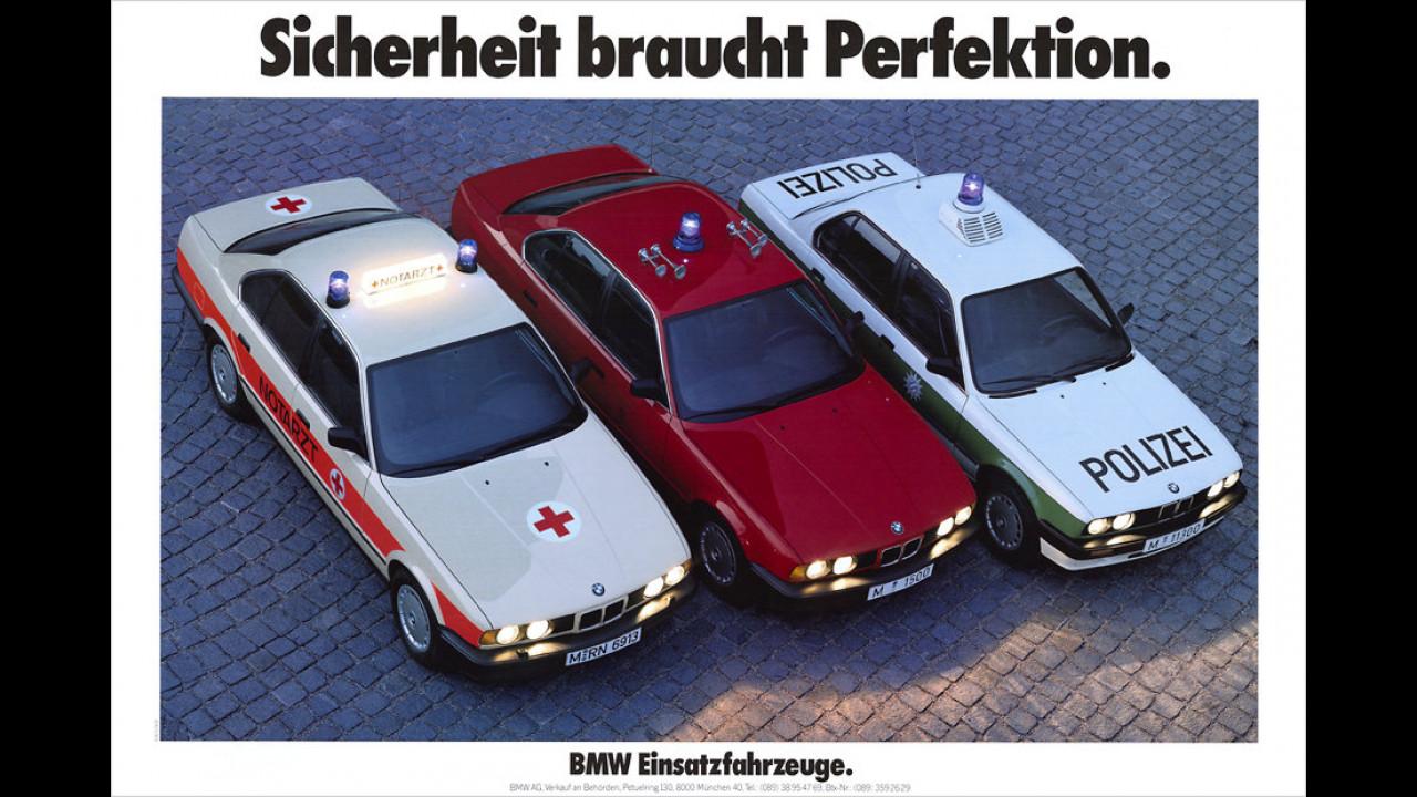 BMW im Einsatz