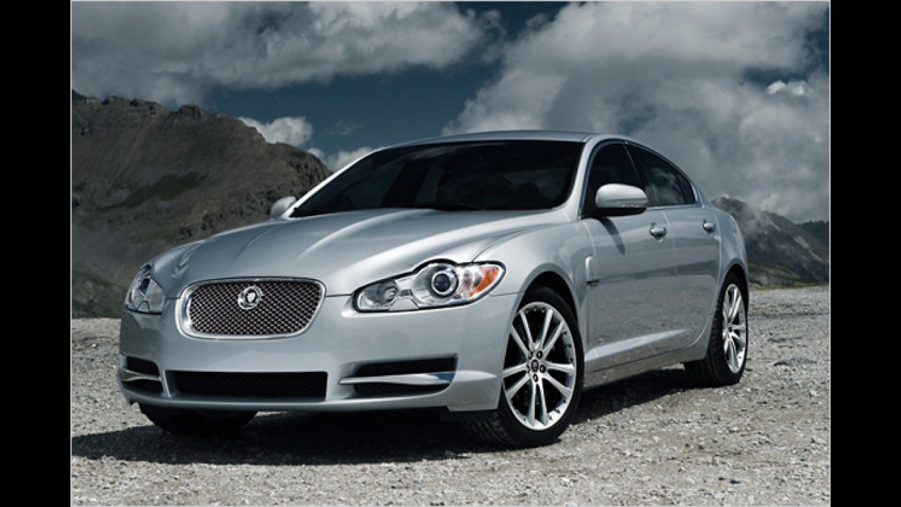 ... wurde der Jaguar XF