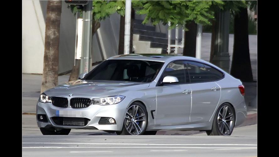 Erwischt: BMW 3er GT ungetarnt