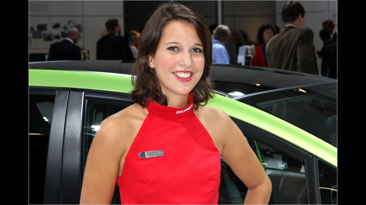 Beliebter Name am Kragen: Viele von den Damen scheinen Honda zu heißen