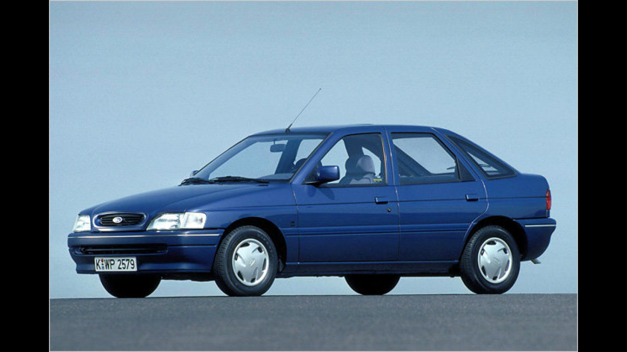 20 Jahre Ford Escort IV