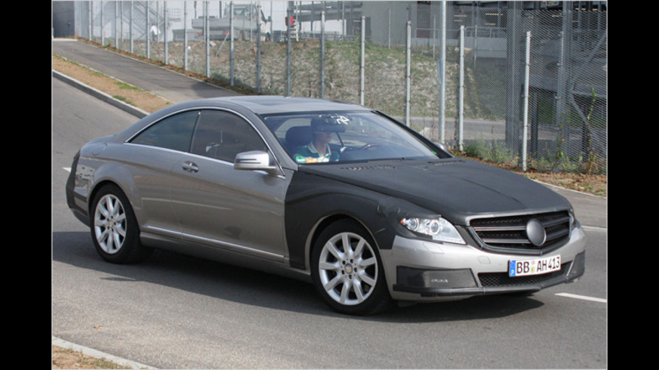 Mercedes S Coupé Facelift