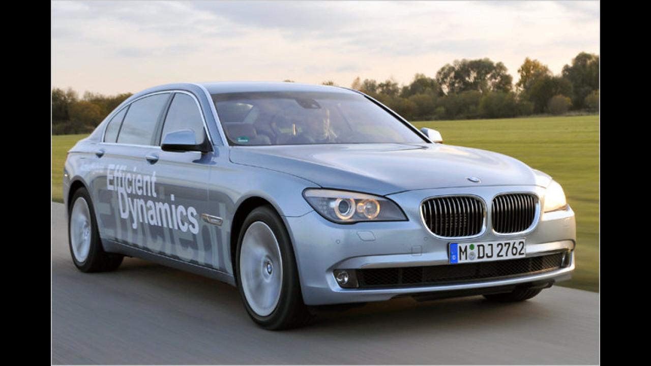 Hybridmodell: BMW ActiveHybrid 7