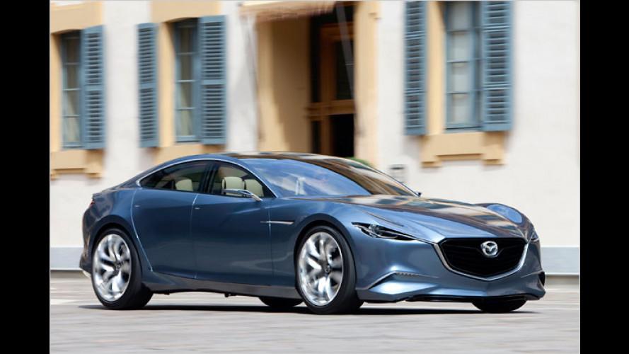 Mazda führt mit Studie Shinari das Kodo-Konzept ein