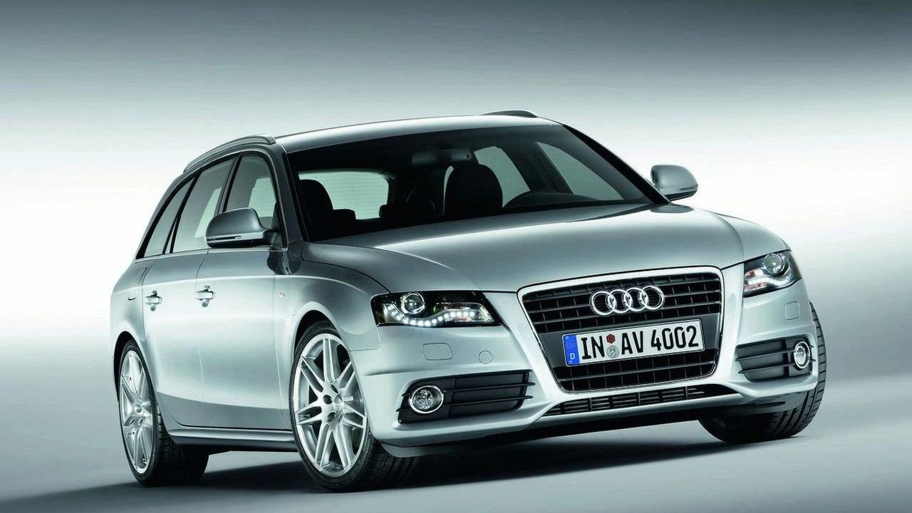 Audi A4 Avant (Euro spec)