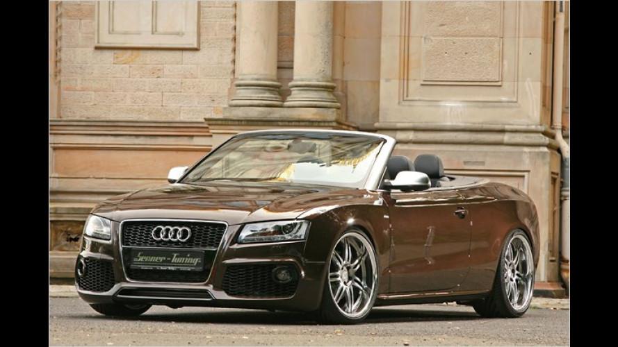 Ob offen oder geschlossen: Senner verfeinert den Audi A5