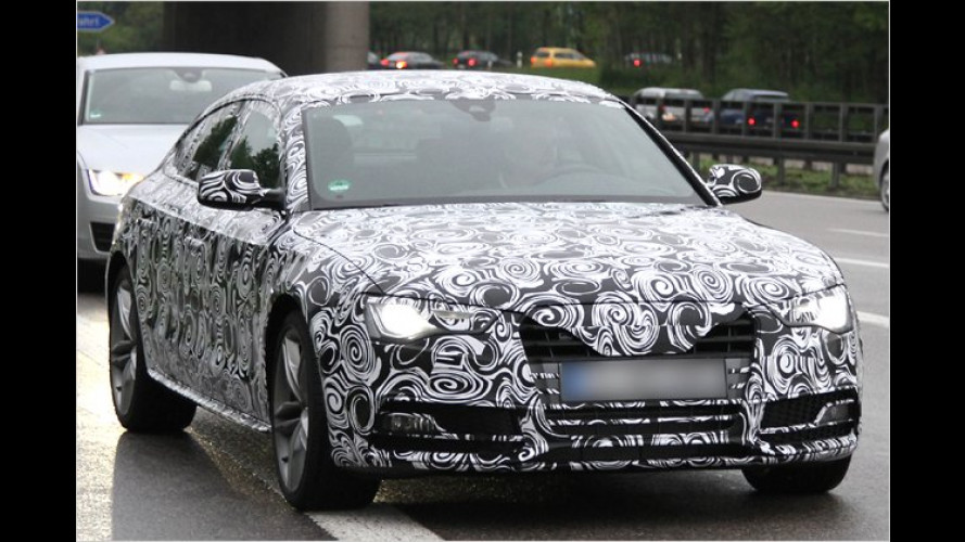Erwischt: Audi liftet den A5 Sportback