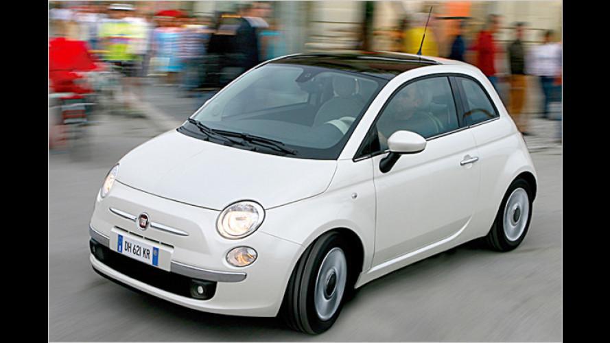 3,9 Liter Verbrauch: Neuer Diesel für Fiat 500 und 500C