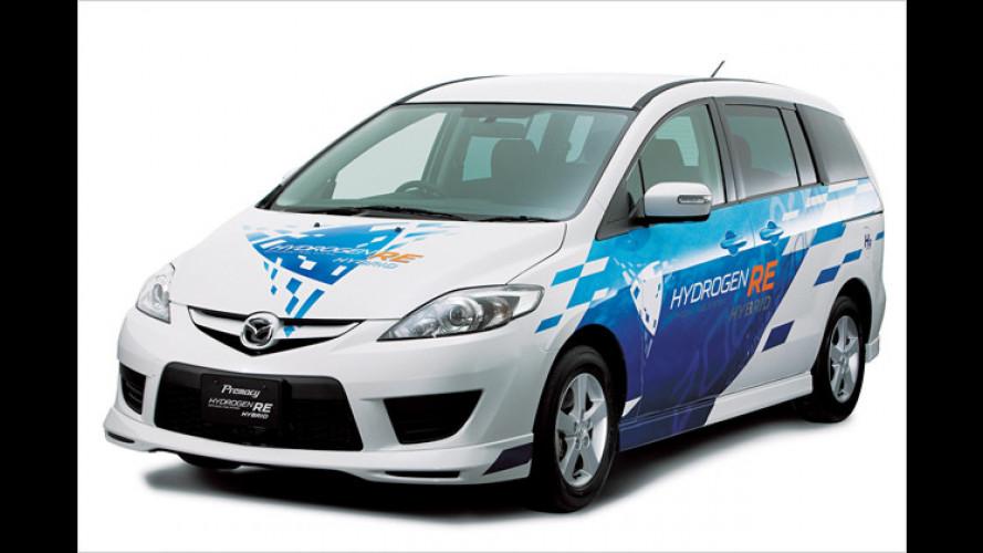 Mazdas Leasing-Programm für Wasserstoff-Wankel-Hybride