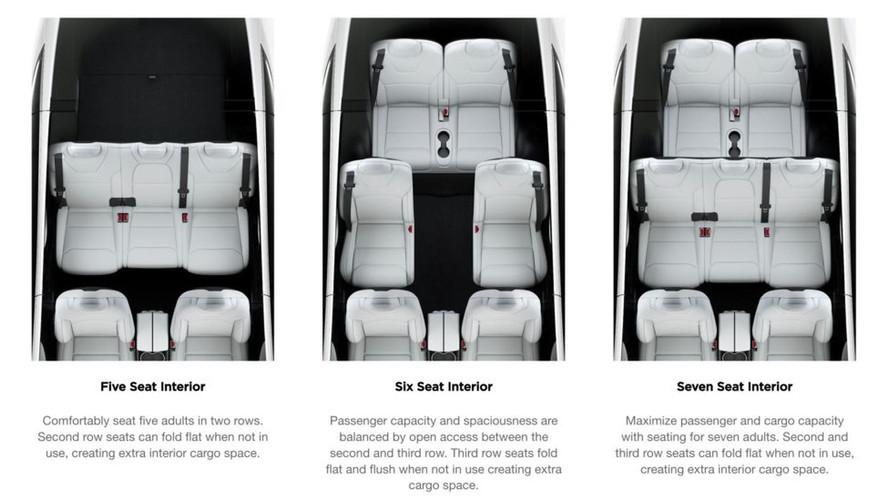 Tesla Model X, katlanır ikinci sıra koltuklara kavuştu