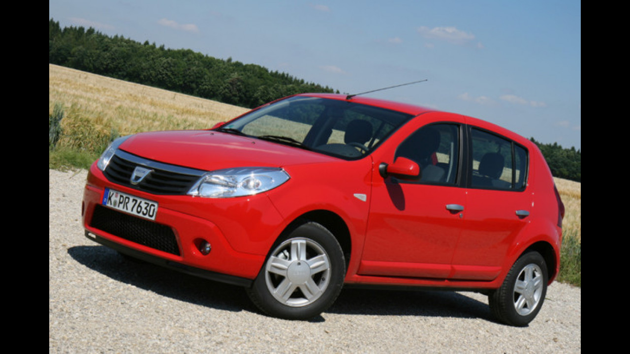 Platz 9: Dacia Sandero (2,4 Prozent)
