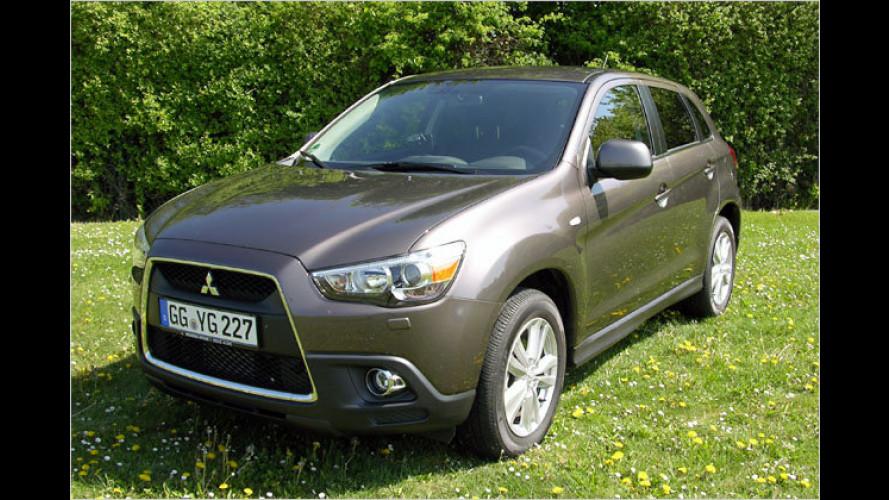 Kleiner Bruder: Der neue Mitsubishi ASX (2010) im Test