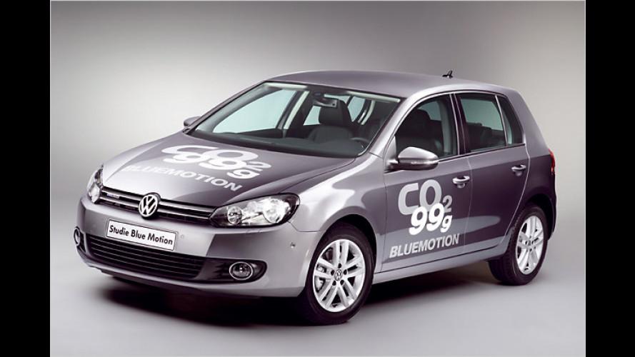 Neue Studie: VW Golf BlueMotion mit erstem 1,6-Liter-Diesel