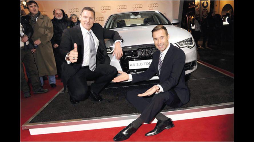 """,Audi Night"""" mit Prominenz beim Hahnenkamm-Rennen"""