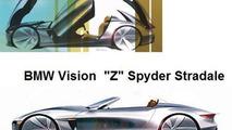 BMW Z Spyder Stradale alleged illustration, 600, 21.05.2010