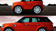 The supercar Shrinker - Range Rover Sport