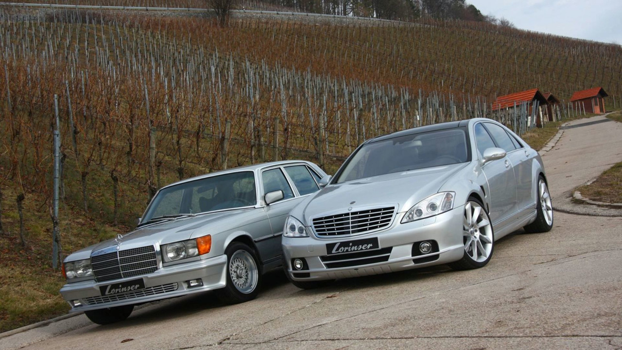1975 Lorinser Mercedes-Benz 450 SEL 6.9 W116 with 2009 S 500 W221