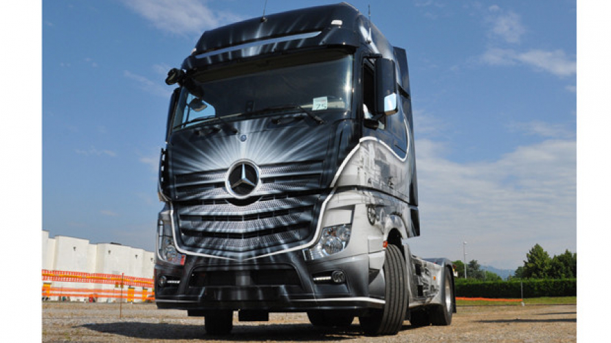 Nuovo Actros in Tour
