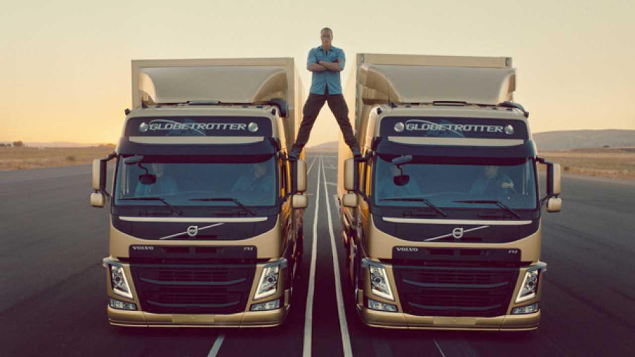 Volvo, successo epico per Van Damme