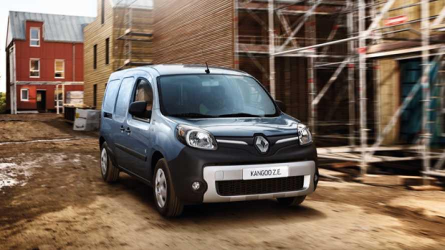 Renault, più autonomia per Kangoo Z.E.