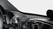 smart fortwo BRABUS interior contrast components in carbon look 18.03.2010