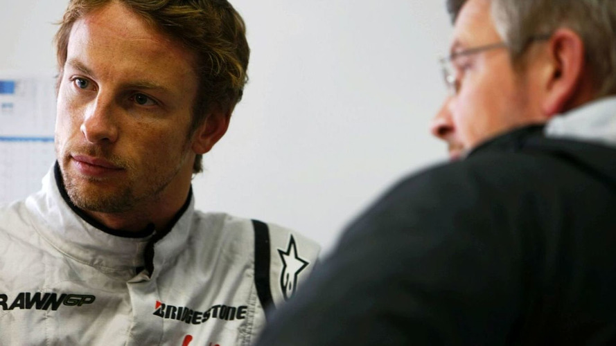 Button 'almost' drove for free in '09 - Brawn