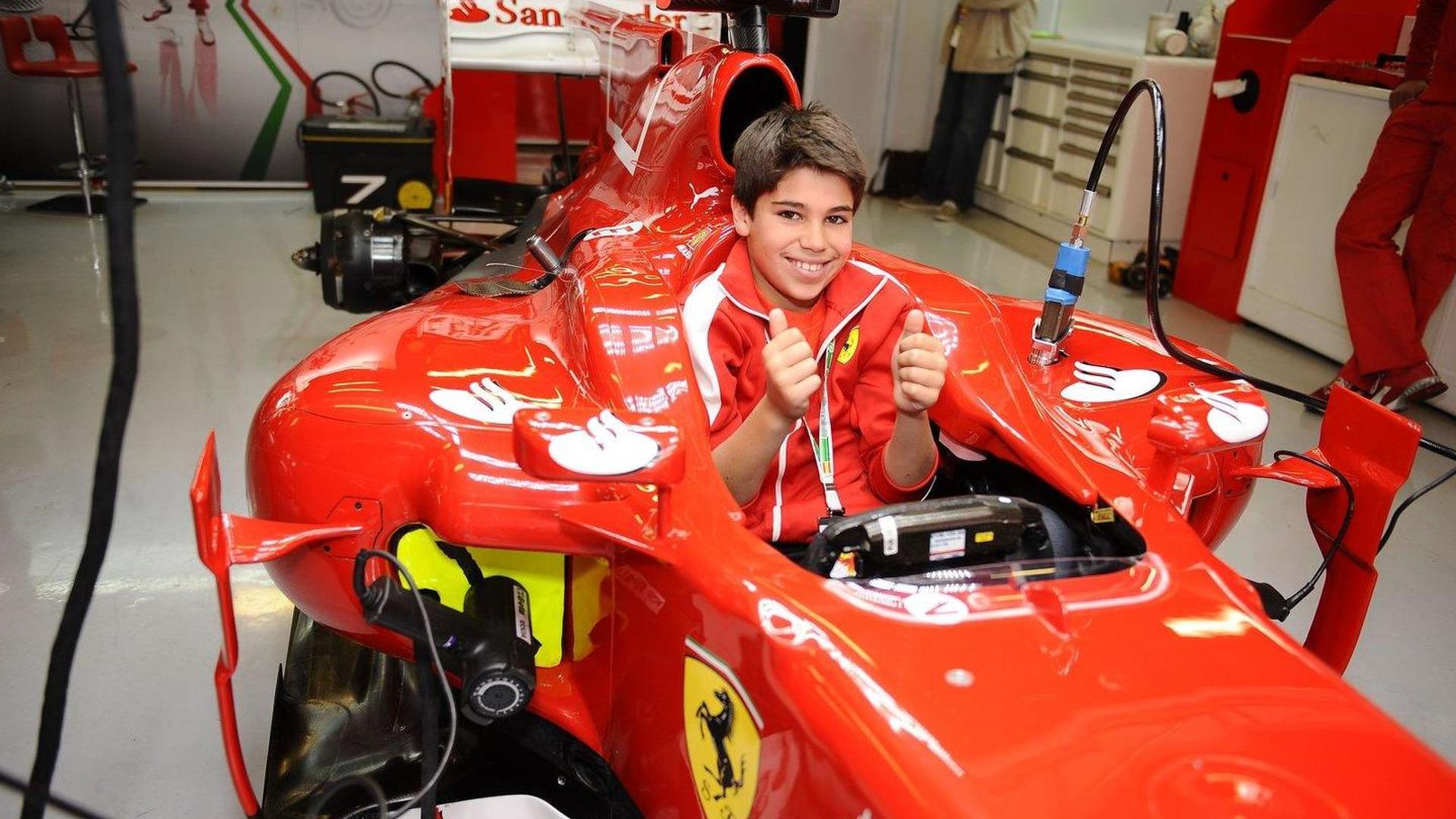 Ferrari Signs 11 Year Old Canadian Karting Champ For Ferrari Driver Academy