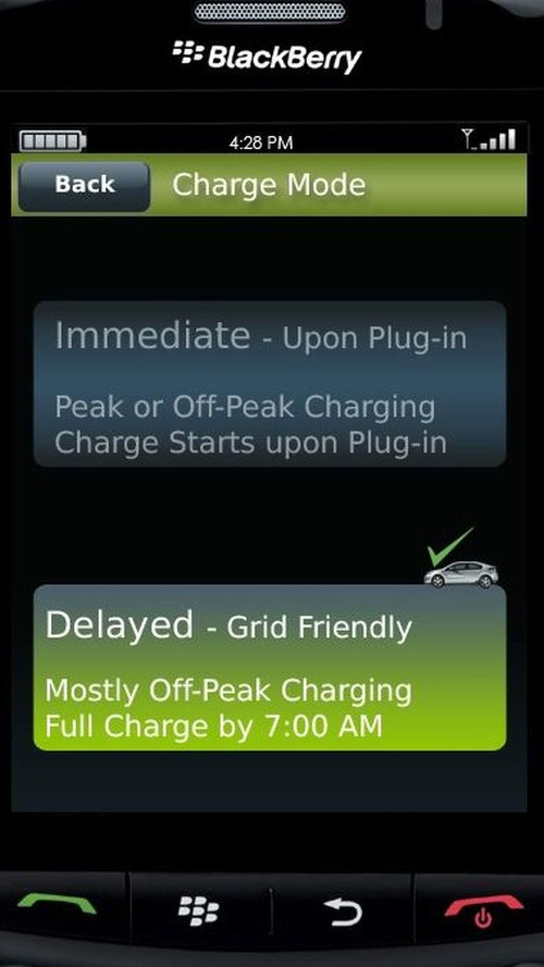 Smartphone App Gives Owners 24/7 Connection to New Chevrolet Volt