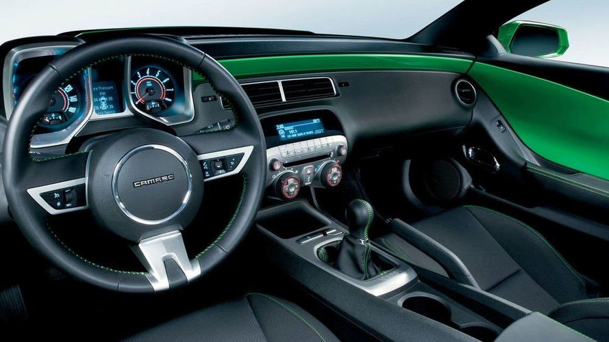 2012 Chevrolet Camaro to get new interior